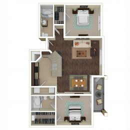 Bell Frisco at Main B2B Floorplan