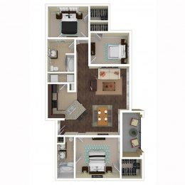 Bell Frisco at Main C2 Floorplan